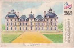 Buvard Petit Format - Biscottes Grégoire - Château De Cheverny - Biscottes