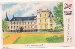 Buvard Petit Format - Biscottes Grégoire - Château Rambouillet - Biscottes