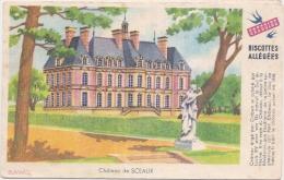 Buvard Petit Format - Biscottes Grégoire - Château Sceaux - Biscottes