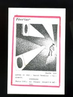 Carte Postale  Pirate Ginette Litt  FEVRIER - Illustrateurs & Photographes