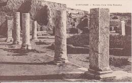 CPA Carthage - Ruines D'une Villa Romaine (4480) - Tunesien