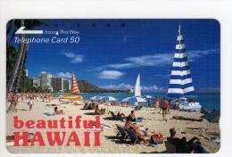HAWAI Télécarte Japonaise - Hawaï