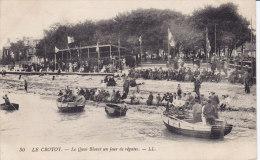 LE CROTOY,  Regates Sur Le Quai Blavet, écrite Militaire - Le Crotoy