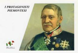 [DC1453] CARTOLINEA - 150° ANNO UNITA´ D´ITALIA - PROTGONISTI PIEMONTESI - ETTORE PERRONE (29) - Storia