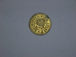 "Jeton Alemania. Nuremberg 1872-1895. ""Rech Pfen J.M. Zeiser"" ""Plus Ultra""(5314) - Royaux/De Noblesse"