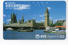 ROYAUME UNI LONDRES Télécarte Japonaise - Regno Unito