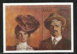 MALI 1995 1996 Liv Ulman Et Ingar Bergman CENTENARY  100 YEARS CINEMA SHEET FOGLIETTO MNH - Mali (1959-...)