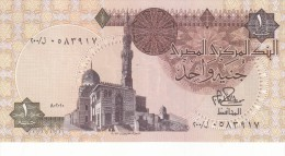 EGYPT 1 EGP POUND 1980 P-50a SIG/IBRAHIM #15 REPLACEMENT 200 UNC */ - Egypt