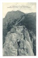 Cp, 38, Env. De Grenoble, Escalade Aux Trois Pucelles - Grenoble