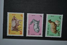 Liban 1965 Animaux D'élevage Neufs Avec Charnière/MH Série Complète - Liban