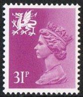 Wales SG W65 1984 Machin 31p Unmounted Mint - Regional Issues