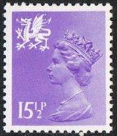 Wales SG W42 1982 Machin 15½p Unmounted Mint - Regional Issues