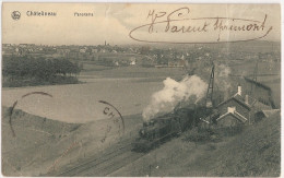 Châtelineau - Panorama - Cãtelet - Belgique. Gare. Chemin De Fer. Train. - Châtelet