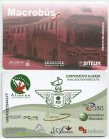 MEXICO - MACROBUS - RECHARGEABLE CARD - - Wochen- U. Monatsausweise