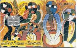 "* < WF7 ¤ Tapisserie ""Pilioko"" - 05/95 - NSB - Wallis And Futuna"
