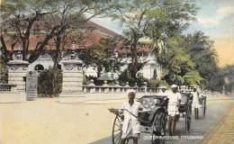 Sri Lanka  Ceylon     Queens House, Colombo, Rickshaw Coolies - Sri Lanka (Ceylon)