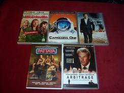 LOT DE 5 DVD ° QUANTUM OF SOLACE + PATAYA  + CAPRICORN ONE + WEIRDSVILLE +  ARBITRAGE  REF 308 - DVDs