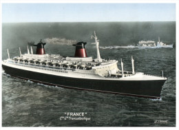 (M+S 605) Paquebot France - Cruise Ship France - Dampfer