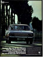Reklame Werbeanzeige  -  Opel Commodore  -  Steigen Sie Ein In Den Wagen, Den Sie Sich Schon  -  Von 1968 - KFZ