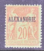 ALEXANDRIA  8   * - Alexandria (1899-1931)