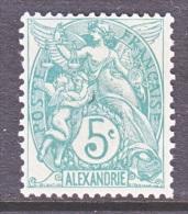 ALEXANDRIA  20    * - Alexandria (1899-1931)
