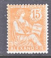 ALEXANDRIA  22  *   ORANGE - Alexandria (1899-1931)
