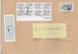 FRANCE 2014 AFFRANCHISSEMENT MARIANNE CIAPPA+L HOMME A LA BARRE SUR LETTRE - France