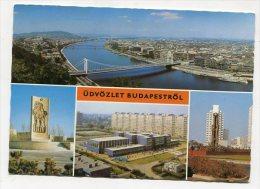 HUNGARY - AK 199120 Budapest - Üdvözlrt Budapeströl - Hungría