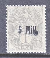 ALEXANDRIA   34    *   INKING FLAW - Alexandria (1899-1931)