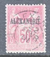 ALEXANDRIA   12 A   (o)   TYPE I - Used Stamps