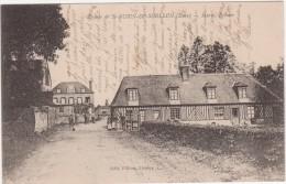 Cpa 27 Saint-aubin-de Scellon Mairie, épicier - France