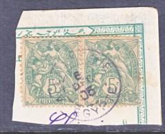 ALEXANDRIA   20 X 2   (o) - Alexandria (1899-1931)