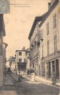 CPA 71 MARCIGNY RUE DE L'HOTEL DE VILLE (SCAN RECTO VERSO (animée - Other Municipalities