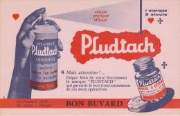 Buvard - DÉTACHEUR AÉROSOL PLUDTACH - - Produits Ménagers