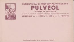 Buvard - POUDRE Et PASTILLES PULVÉOL - - Produits Pharmaceutiques