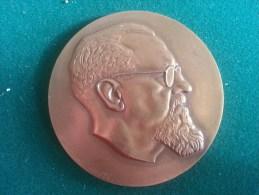 Kamer Van Volksvertegenwoordigers Aan Frans Van Cauwelaert 1910-1960 (W. Kreitz), 129 Gram (medailles0114) - Belgique