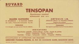 Buvard - TENSOPAN - DRAGÉES AMPOULES - - Produits Pharmaceutiques