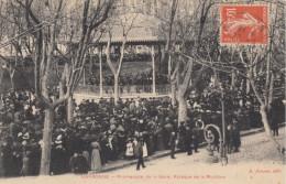 CPA - Narbonne - Promenade De La Gare - Kiosque De La Musique - Narbonne