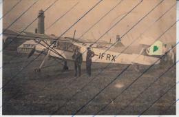 Foto Photo Luftwaffe Marine Flugzeug Fieseler Fi156 Storch D-IFRX Kap Arkona Rügen 1939 O.Vogt Avion Aeroplane Aircraft - Fliegerei