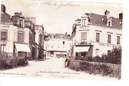 Sille Le Guillaume L Arrivee A La Gare Hotel De L Ouest Precurseur 1904 - Sille Le Guillaume