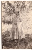 B81715 Real Photo Foto Types Costume Bolivia Front/back Image - Bolivie