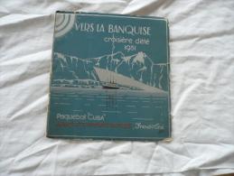Programme De La Croisière D'été Du Paquebot Cuba 1931 - Boats