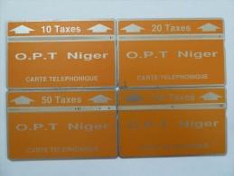 NIGER - L&G - 2nd Issue - Set Of 4 - 404C & 208B