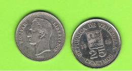 VENEZUELA - 25 Centimos 1989  KM50 - Venezuela
