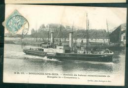"""N°16  -   Boulogne Sur Mer  -  Arrivée Du Bateau Excursionniste De Margate Le """" Conqueror"""" - Lfh63 - Boulogne Sur Mer"""