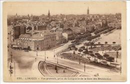 87 - LIMOGES - Vue Générale, Prise Du Campanile De La Gare Des Bénédictins - Ed. ? N° 1001 - 1940 - Limoges