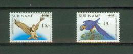 Suriname Surinam 1993,2V, Bird,birds,vogels,vögel,p Ajaros,oiseaux,aves,uccel Li , MNH/Postfris(D2024) - Birds