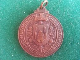 Antwersche Diamantkring, Officieele Opening, 21/9/1930, 12 Gram (medailles0134) - Belgique