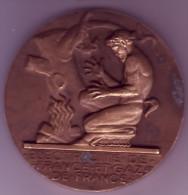 Jeton. Médaille - Electricité De France Et Gaz De France - - Professionals / Firms