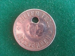 Willem Tell, Antwerpen, 1903, 4 Gram (medailles0136) - België